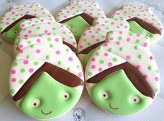 Spa Girl Cookies