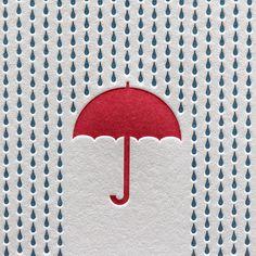 Rainy Day Letterpres