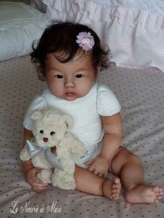 Asian Reborn Baby Dolls   Details about Reborn, Asian, baby, doll, child, girl, prototype Kana ...