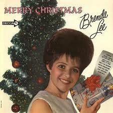 "Vintage Christmas Record Album ~ ""Merry Christmas"" by Brenda Lee"
