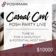 Join us on FB live Thursday 2/2! Who's ready for another Posh Party live from PMHQ?! Me me me! I'm hosting and will be giving out host picks to those that join our livestream on the Poshmark Facebook page tomorrow night at 7pm! See you there! Facebook.com/poshmark 🍷💥🎉 Dresses