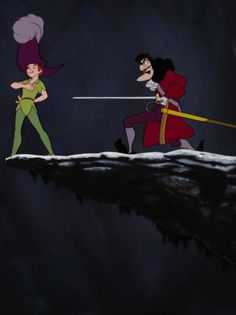 Hook, the back stabber, Peter Pan
