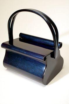 vintage lucite purse