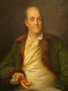 Portrait of Benjamin Franklin, 1778 by Anne Rosalie Bocquet Filleul on Curiator, the world's biggest collaborative art collection.