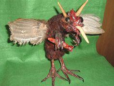 Sideshow Freak Taxidermy Gaff Weird Bloody Oddity What Is It Michigan Mosquito | eBay