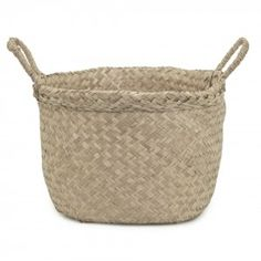 Handwoven from natural seagrass and available in medium and large, Olli Ella's new Billy Basket stands to be an immediate staple. Functional, tactile and perfect for storing everything from toys to laundry, Olli Ella's Billy basket is also the perfect . Apple Baskets, Book Baskets, Large Baskets, Kids Storage, Toy Storage, Rattan Basket, Wicker, Belly Basket, Classic Rugs