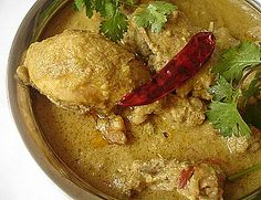 Paleo Coconut Chicken Masala - Indian Food Recipes | Andhra Recipes | Indian Dishes Recipes | Sailu's Kitchen