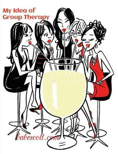 group therapy with wine :-) Just Wine, Aviation Humor, Wine Down, Wine Signs, Photo D Art, Wine Wednesday, Wine Art, Wine Quotes, Wine Parties