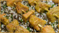 Sulfur Shelf Mushroom Recipe - Chicken Mushroom Satay