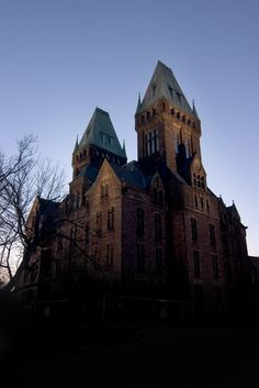 [ Scary isn't it? Buffalo State Asylum for the Insane. Built 1871 ] I love this building!