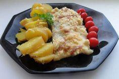 Jak upéct rybí filé se sýrovou drobenkou | recept