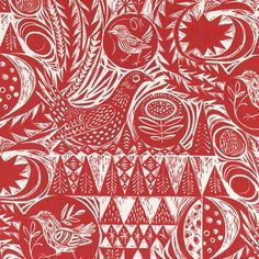 from dearada great inspiration for a lino cut