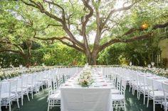Coconut Grove, Miami Garden Wedding at Villa Woodbine Miami Wedding, Mod Wedding, Wedding Tips, Wedding Bells, Garden Wedding, Wedding Planning, Wedding Reception, Wedding Decor, Wedding Photos