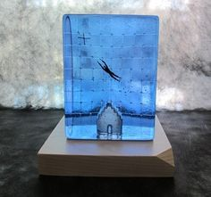 Kosta Boda Limited Edition Dreaming High Glass Art sculpture Bertil Vallien RARE $483.18