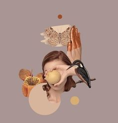 Surreal Collage, Surreal Art, Collages, Graphic Design Posters, Graphic Design Inspiration, Photoshop, Montage Art, Inspiration Artistique, Collage Portrait