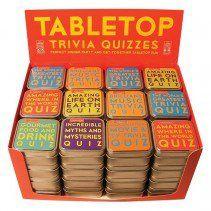 Tabletop Trivia Quiz Card Games