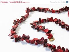 1940s Czech Glass Flower Beaded Necklace by estatechicago on Etsy, $51.00