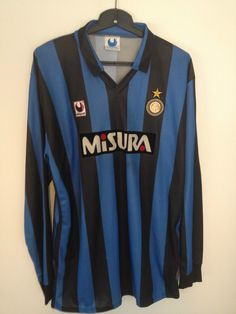 vintage Internationale Inter Milan Uhlsport 1990 football shirt jersey trikot | eBay