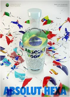 Vodka ad (FIFA World cup 2014) - Art & Design