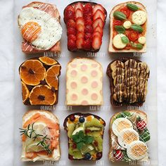 Quick Healthy Breakfast Ideas & Recipe for Busy Mornings Menue Design, Food Design, Food Porn, Eat This, Good Food, Yummy Food, Breakfast Toast, Breakfast Ideas, Food Decoration