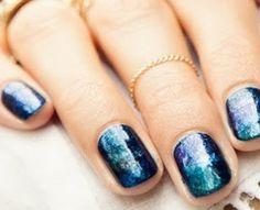 Hoe maak je galaxy nagels