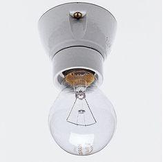 Thomas Hoof Porcelain Ceiling Light at Remodelista