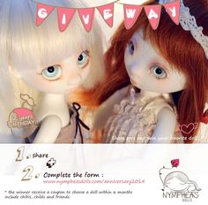 Nympheas Dolls 2014 Anniversary !   Nympheasdolls