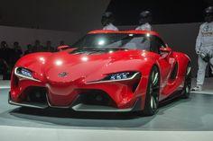 Toyota Reveals Design Revolution With Sports Car Concept [Detroit 2014]