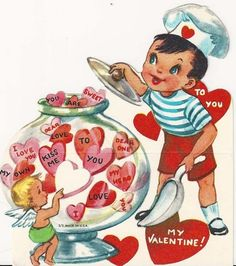 """TO YOU MY VALENTINE"" 1950's"