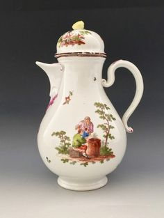 Vienna porcelain coffe pot.