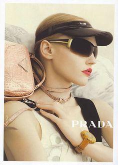 c3002e0e941 Prada - Steven Meisel - Sasha Pivovarova - 2006SS - ad campaign - fashion  ads Prada