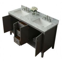 "Maili 60"" Double Bathroom Vanity Set"