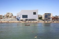 The Aguilas Auditorium by Estudio Barozzi Veiga #architecture #spain