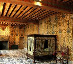 Chateau Blois, room of king Henri III.