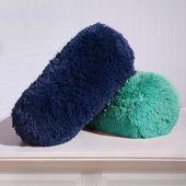 Fashion Fuzzy Neck Roll Pillow