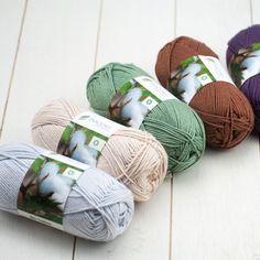 50g Bio Cotton . Unser ökologisches Baumwollgarn