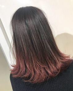 Hair Ideas, Short Hair Styles, Hair Color, Pink, Beauty, New Hair, Style Short Hair, Hair Styles, Bob Styles