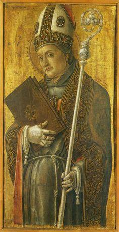 Saint Louis of Toulouse - Bartolomeo Vivarini (Tempera on wood, Tempera, Renaissance Art, 15th Century, Poster Size Prints, St Louis, Christianity, Catholic, Saints, Wall Art