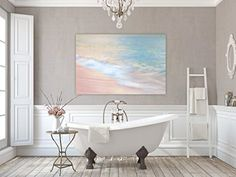 Canvas Gallery Wrap ~ Brush Strokes ~ Bermuda (12x18) Photographs by Joules http://www.amazon.com/dp/B018LF2FZI/ref=cm_sw_r_pi_dp_C8hwwb1NWM730