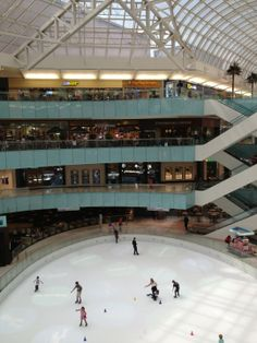 One of the best malls in Dallas, including the Westin Hotel, ice rink, restaurants, and shops galore.