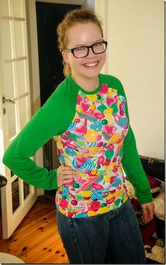 #sew #sewing #sy #søm #sweather #genser #candy #fabric