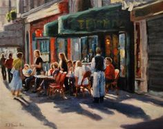 Late Lunch Paris by Faye Vander Veer $1,200  (i want to go back!)