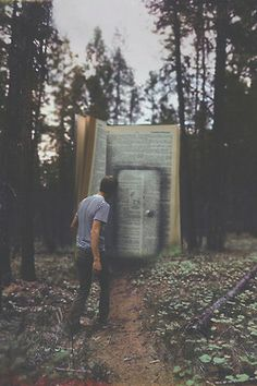 Surreal Photography Art | A Writer And His Thoughts, Meaning In Life