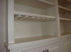 Stem Glass Holder for Built-In Cabinetry