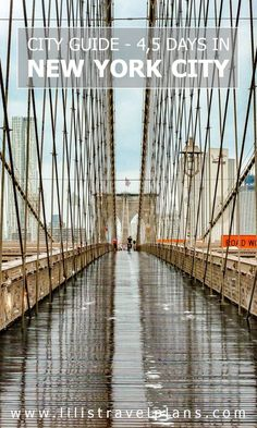 CITY GUIDE: How to spend 4,5 days in New York City, USA