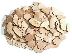 Slabé dřevěné plátky nejrůznějších geometrických tvarů (440 g) cca 1000 kusů.  Rozměr: 2–6 cm, tloušťka 1 mm. Candy, Chocolate, Chocolates, Sweets, Candy Bars, Brown