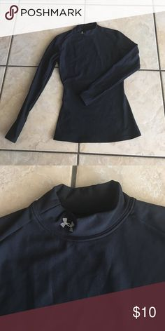 Long sleeve under armor Women's medium long sleeve under armour. Mock turtleneck cold weather gear Under Armour Tops Tees - Long Sleeve