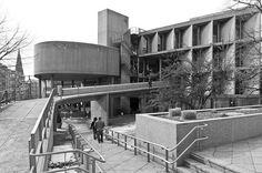 Carpenter Center for the Visual Arts, Harvard University, Cambridge, Massachusetts (Le Corbusier, Le Corbusier, Visual Arts Center, Brutalist Buildings, Giorgio Vasari, Walter Gropius, Harvard University, Wassily Kandinsky, Innovation Design, Building Design