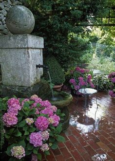 Fountain.  By Priory Home Atelier