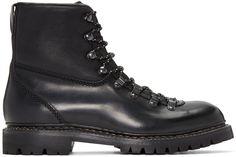 RAG & BONE Black Vintage Hiker Boots. #ragbone #shoes #boots